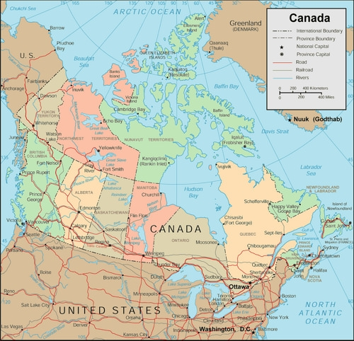 Canada-Map-With-Cities