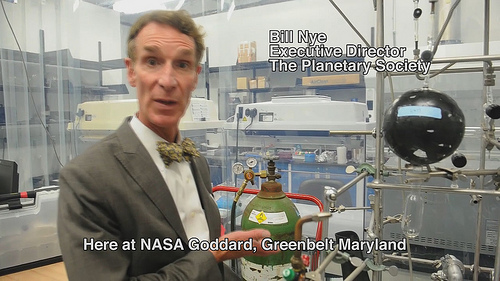 Bill Nye visits Goddard Space Flight Center [HD Video]
