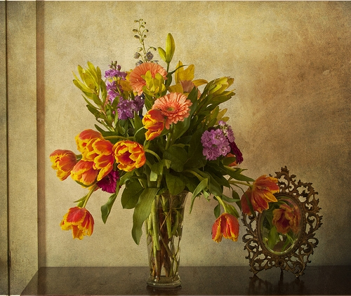 family room bouquet