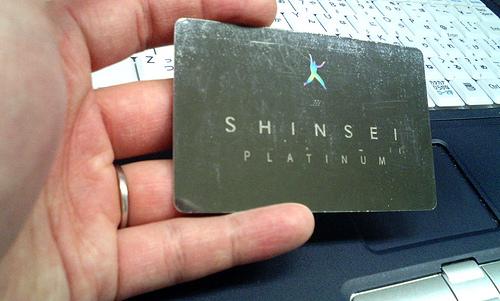 SHINSEI BANK - PLATINUM Card
