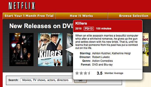 Detail Overlay: Netflix