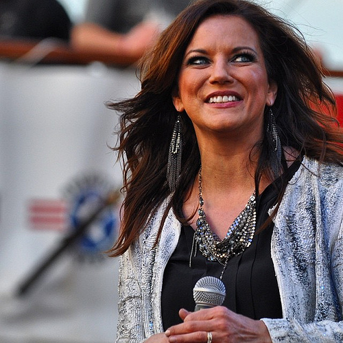 No stranger to performing for the military, Martina McBride was both humbled and appreciative of her warm welcome on @carnival #CelebrateFreedom
