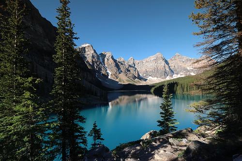 Moraine lake Alberta Canada July 4th 2015