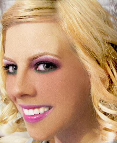 Digital Makeup Portrait