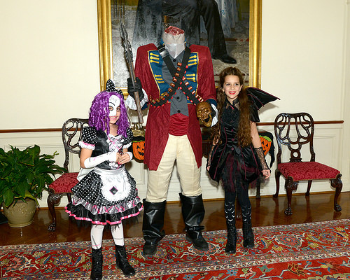 Governor and Judge O'Malley Host Halloween Party.
