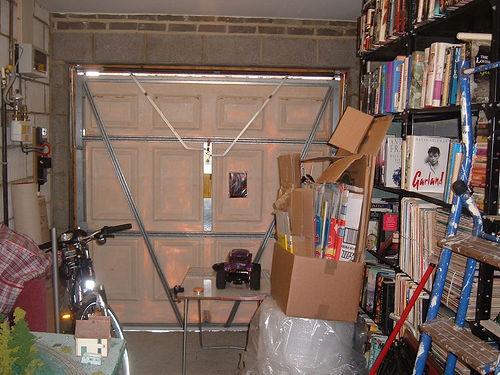 Shut in the garage