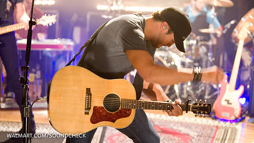 Luke Bryan on Walmart Soundcheck