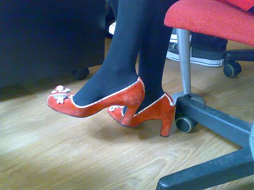Puppet shoes