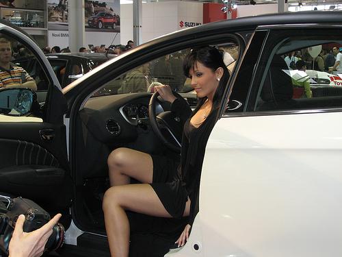 Najkrajsia hostesska Autosalonu Bratislava 2008