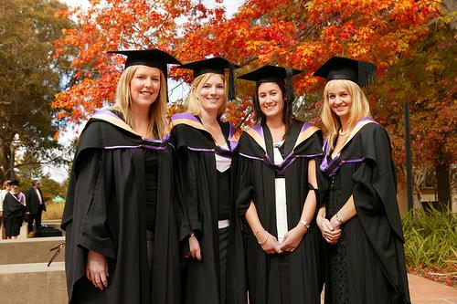 Autumn graduates