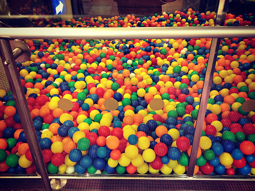 THE BALL PIT.