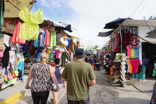 Bucerias Flea Market, Mexico